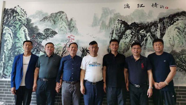 千赢app手机版下载-亚洲官网副会长陈祥立一行回家乡考察投资项目